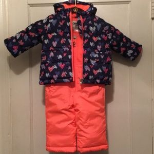 Osh Kosh B'gosh NWOT Girls Snow Suit